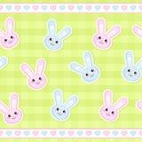 bunny άνευ ραφής λουρίδα Στοκ εικόνα με δικαίωμα ελεύθερης χρήσης