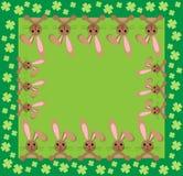 bunny ανασκόπησης στοκ εικόνες με δικαίωμα ελεύθερης χρήσης