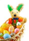 bunny ανατολικά αυγά στοκ εικόνες με δικαίωμα ελεύθερης χρήσης