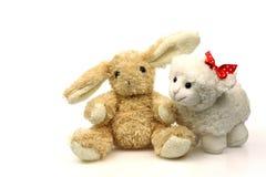 bunny αρνί Πάσχας λίγη άνοιξη Στοκ φωτογραφία με δικαίωμα ελεύθερης χρήσης
