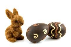 bunny αυγά Πάσχας Στοκ φωτογραφίες με δικαίωμα ελεύθερης χρήσης
