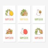 bunny αυγό Πάσχας διάνυσμα Στοκ Εικόνες
