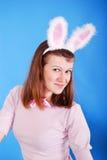 bunny αυτιά playgirl προκλητικά Στοκ Φωτογραφίες