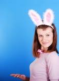 bunny αυτιά playgirl προκλητικά Στοκ εικόνα με δικαίωμα ελεύθερης χρήσης