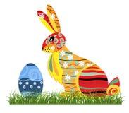 bunny διακοσμητικό Πάσχα Στοκ φωτογραφία με δικαίωμα ελεύθερης χρήσης