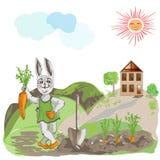 bunny ευτυχές Στοκ εικόνες με δικαίωμα ελεύθερης χρήσης