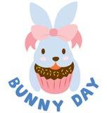 bunny ημέρα Στοκ εικόνα με δικαίωμα ελεύθερης χρήσης