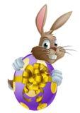Bunny και αυγό Πάσχας διανυσματική απεικόνιση