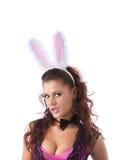 bunny κορίτσι προκλητικό Στοκ φωτογραφίες με δικαίωμα ελεύθερης χρήσης