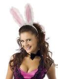 bunny κορίτσι προκλητικό Στοκ Φωτογραφία