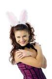 bunny κορίτσι προκλητικό Στοκ εικόνες με δικαίωμα ελεύθερης χρήσης
