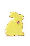 bunny μπισκότο Πάσχα Στοκ φωτογραφία με δικαίωμα ελεύθερης χρήσης