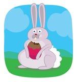 Bunny Πάσχας Στοκ Φωτογραφία