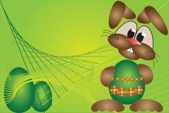 bunny Πάσχα ανασκόπησης Στοκ εικόνες με δικαίωμα ελεύθερης χρήσης