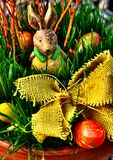 bunny Πάσχα ευτυχές Στοκ Εικόνες