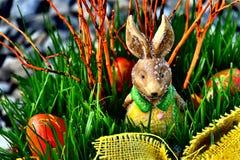 bunny Πάσχα ευτυχές Στοκ εικόνα με δικαίωμα ελεύθερης χρήσης