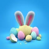 bunny Πάσχα στοκ εικόνα