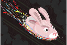 bunny παντόφλες Στοκ εικόνες με δικαίωμα ελεύθερης χρήσης