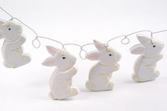 bunny συμβολοσειρά στοκ εικόνες