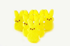 bunny τιτιβίσματα Πάσχας καραμ& Στοκ φωτογραφίες με δικαίωμα ελεύθερης χρήσης