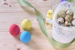bunny χαιρετισμός Πάσχας καρτών Στοκ φωτογραφία με δικαίωμα ελεύθερης χρήσης