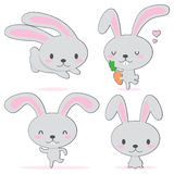 bunny χαριτωμένο λίγα Στοκ φωτογραφία με δικαίωμα ελεύθερης χρήσης