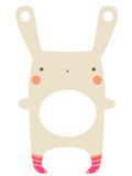 bunny χαριτωμένο απεικόνιση αποθεμάτων