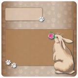 Bunny background Stock Image