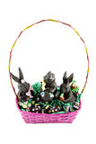 Bunny Basket Royalty Free Stock Images