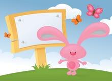 Bunny Board vektor illustrationer