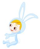 Bunny boy Stock Photo