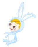 Bunny boy stock photo