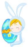 Bunny boy royalty free stock image
