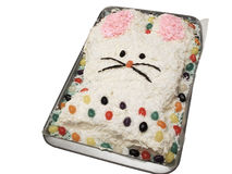 Bunny cake Stock Photography