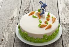 Bunny cake Royalty Free Stock Photo
