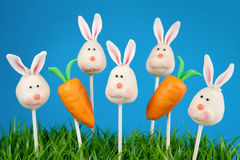 Bunny cake pops Stock Photography