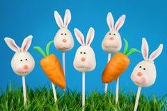 Bunny cake pops Stock Photography