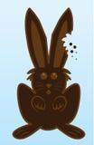 Bunny Chocolate bite Royalty Free Stock Photos