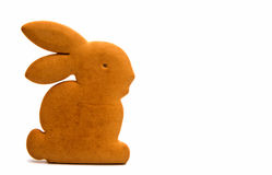 Bunny cookies isolated Royalty Free Stock Photo