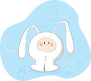 Bunny Costume Royalty Free Stock Photo