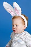 Bunny ears baby Royalty Free Stock Images