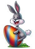 Bunny with an Easter Egg 2 Stock Photos