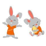 Bunny easter Royalty Free Stock Photos