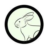 Bunny Face Drawing Closeup Vector Royalty Free Stock Images