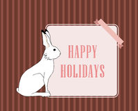 Bunny frame Royalty Free Stock Photo