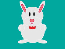 Bunny funny Stock Photo
