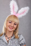 Bunny Girl Royalty Free Stock Photo