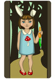 Bunny_girl Foto de Stock