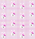 Bunny girl background Stock Photography
