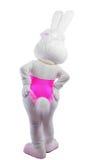 Bunny girl mascot costume take a hip Royalty Free Stock Image